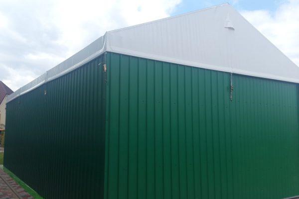 Hala w formie garażu Białystok