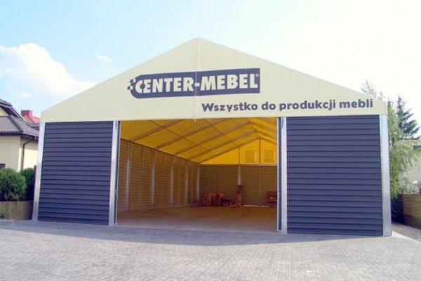 Hala namiotowa do produkcji mebli