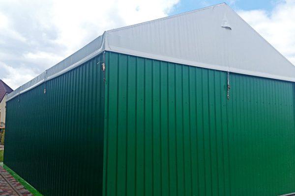 Zielona hala magazynowa pod Białymstokiem