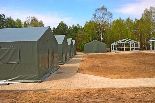 Namioty wojskowe Ługowscy
