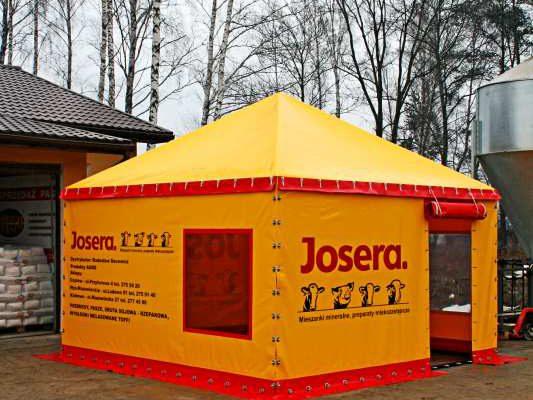 Mała hala namiotowa Białystok
