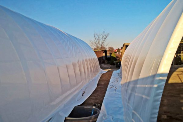 Hala namiotowa biała z Białegostoku