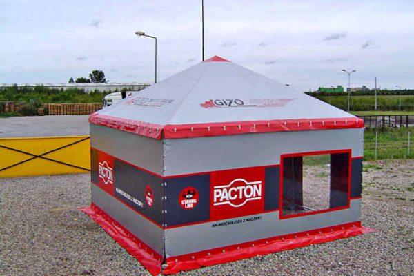 Jeden namiot w formie hali Białystok