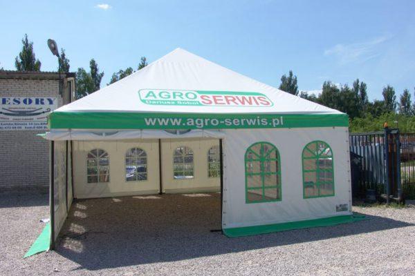 Namiot hali pojedyńczej zielonej Białystok